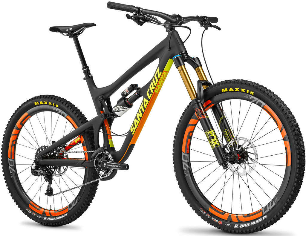 Santa Cruz Big Trail Bikes